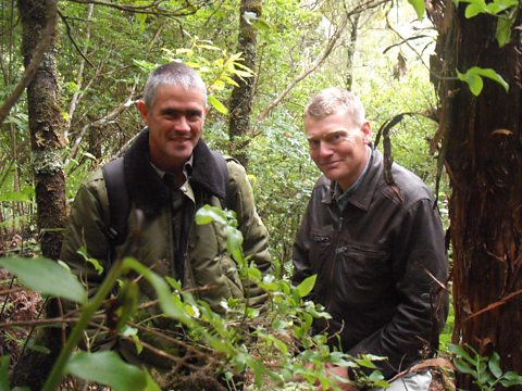 Tom meets Paulo Oliveira Director of the National Park of Madeira