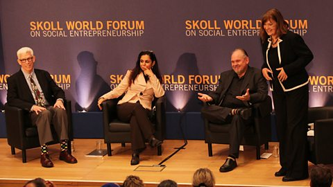 The Forum's guests at the Skoll World Forum