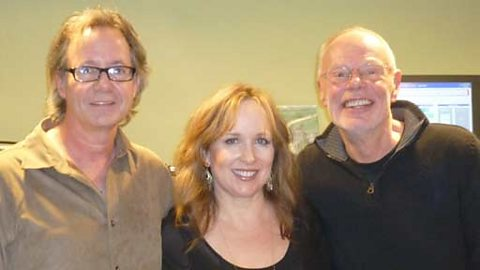 Bob with Gretchen Peters and Barry Walsh
