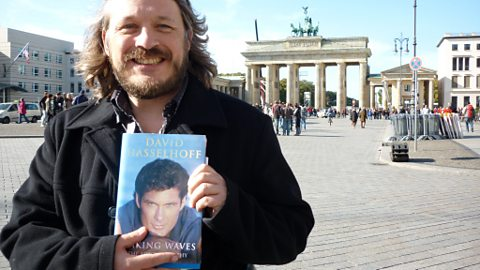 Richard at the Brandenburg Gate