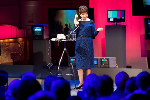 Lyse Doucet delivering the RTS Huw Wheldon Lecture 2012