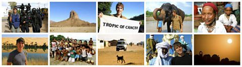 TROPIC OF CANCER PHOTO MONTAGE