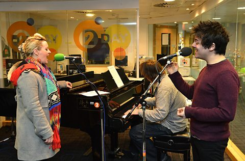 Alice Russell And Jamie Cullum At The Radio 2 Piano