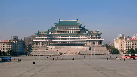 Grand People's Study House, taken from Kim Il Sung Square