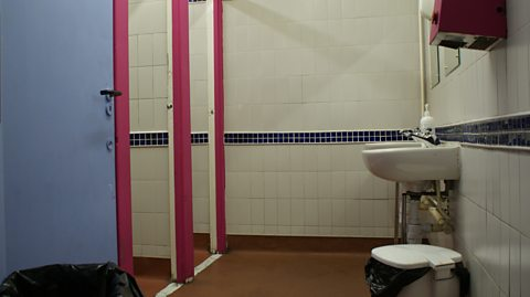 BEFORE: TOILETS