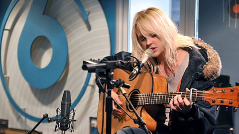 Laura Marling performing on Lauren's show