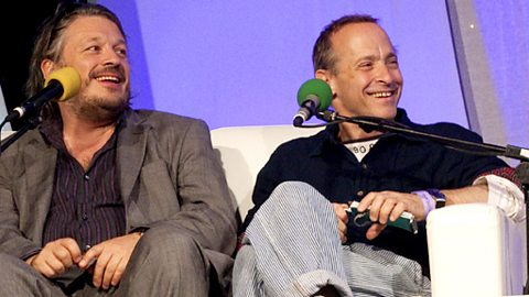 Richard Herring and David Sedaris