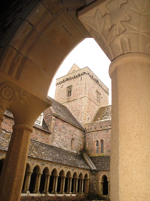 Abbey Tower from Cloisters