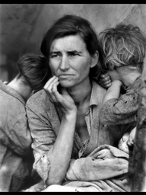 Full Migrant Mother Image by Dorothea Lange