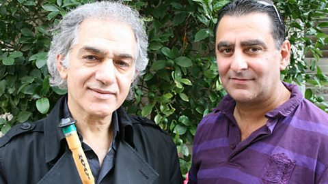 Moshe with Omar Faruk Teklibek 