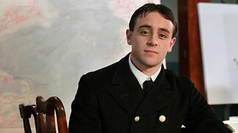 James Gibson played by Samuel Holland
