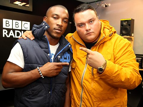 Charlie Sloth with Ashley Walters