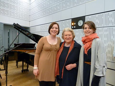 Kathleen Ferrier Award winner Natalya Romaniw, Patricia Routledge and Elizabeth Rossiter