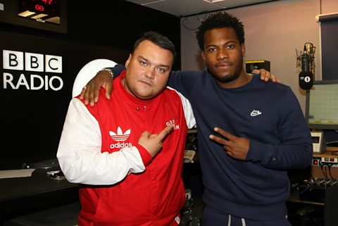 Charlie Sloth with Josh Osho