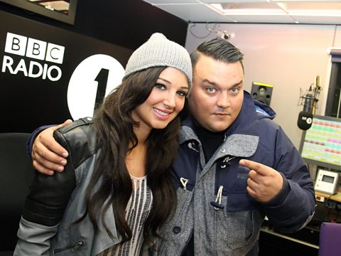 Charlie Sloth with Tulisa