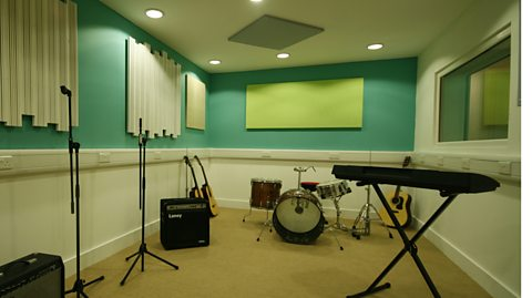 AFTER: RECORDING STUDIO