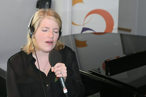 Clare Teal live in session