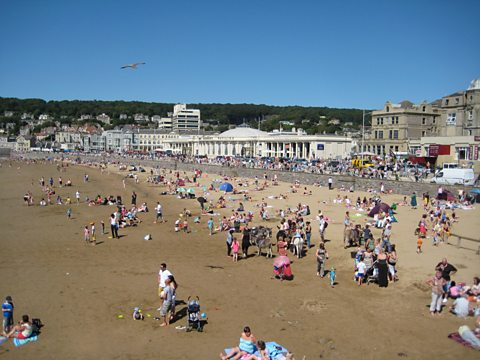 Seafront, Weston-Super-Mare, Somerset