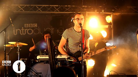 Friends Electric perform for BBC Introducing