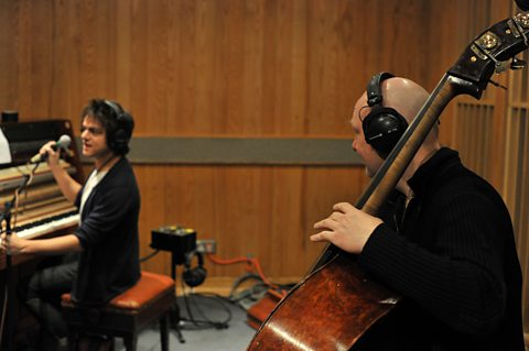 Jamie Cullum and Dan Berglund