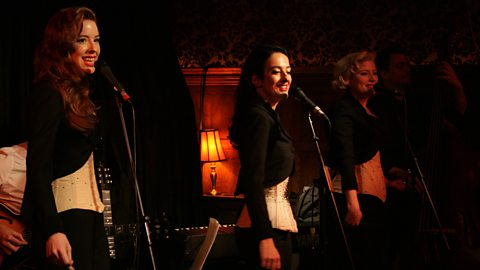 THE PUPPINI SISTERS LIVE