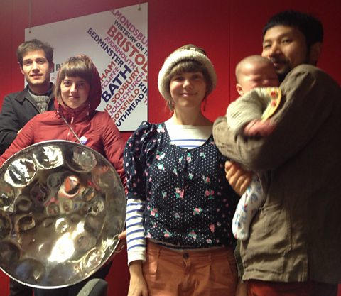Rozi Plain and her band