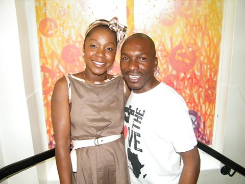 Josette (Afrca Fashion Week London) & DJ Edu