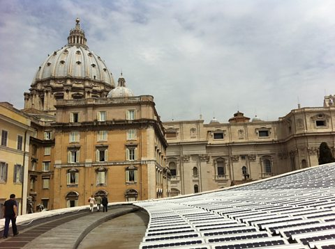 The Vatican's solar panels