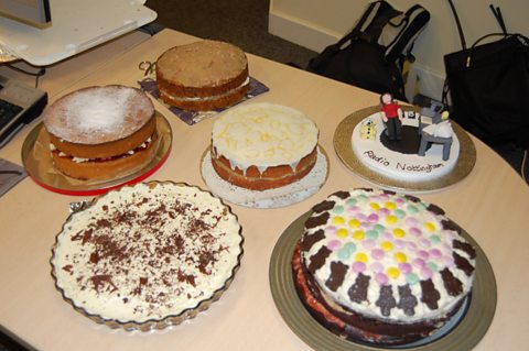 The BBC Children in Need Bake Off Cakes