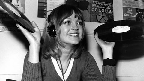 Photo: Annie Nightingale, 1970.
