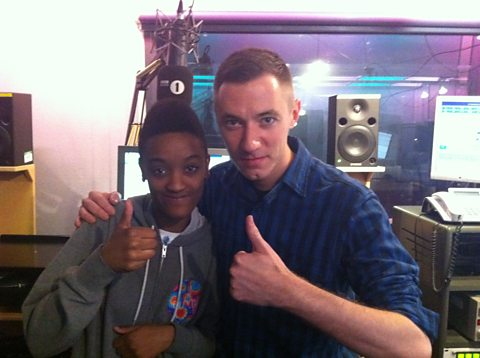 Syd Tha Kyd with Benji