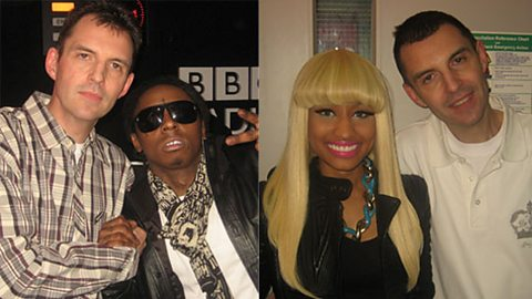 Lil Wayne and Nicki Minaj meet the Big Dawg