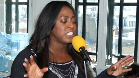 Mica Paris in session for Weekend Wogan