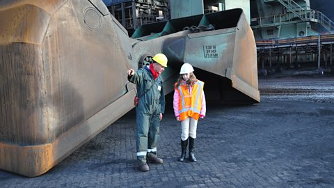 Photo: Martine at Coal Terminal