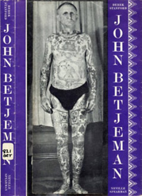 Joe Orton's defaced library books - John Betjeman