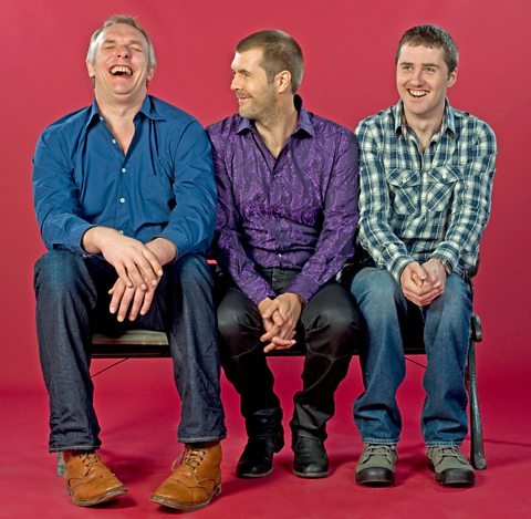 Rhod is joined by Greg Davies and Lloyd Langford