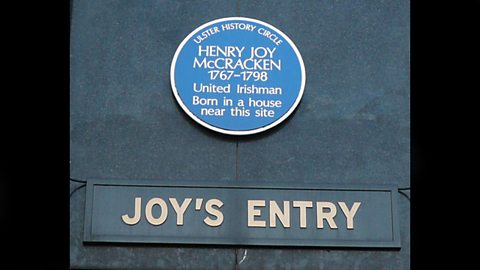 Joy's Entry, off High Street