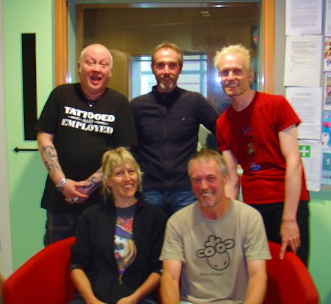 Landermason with The Durbervilles at BBC Leeds
