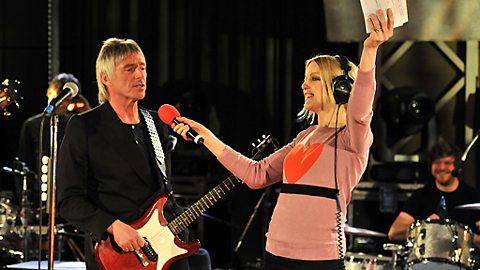 The Modfather, Paul Weller sings 'happy birthday' to BBC 6 Music