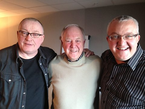 Stuart, Craig Brown and Tam
