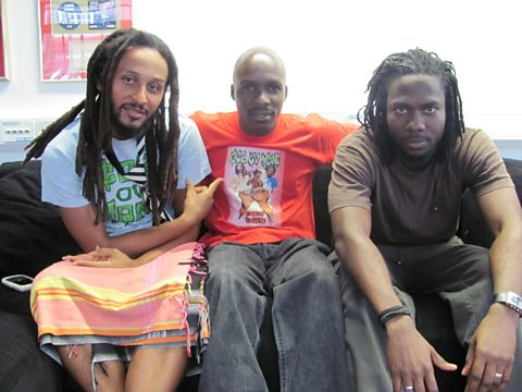 Wanlov The Kubolor and Mensa with Edu