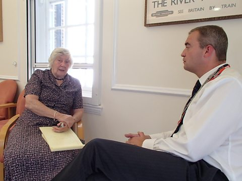 GILES MEETS BARONESS WILLIAMS