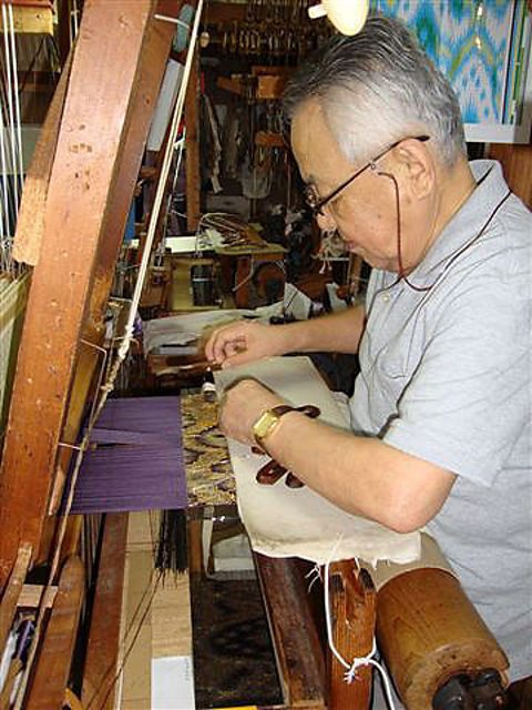 The Watabun company, Kyoto weaves obi belts