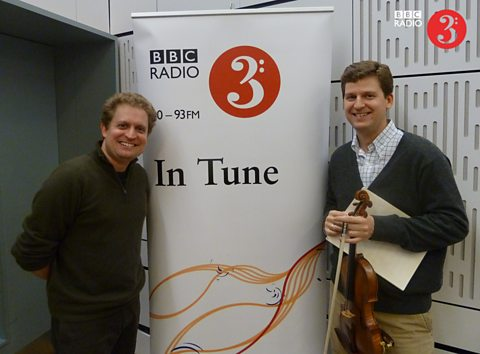Pianist Andy Armstrong and violinist James Ehnes