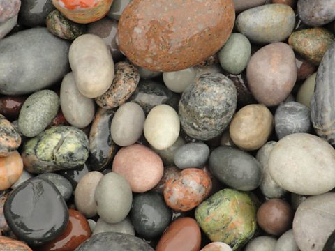 Pebbles, Columba's Bay