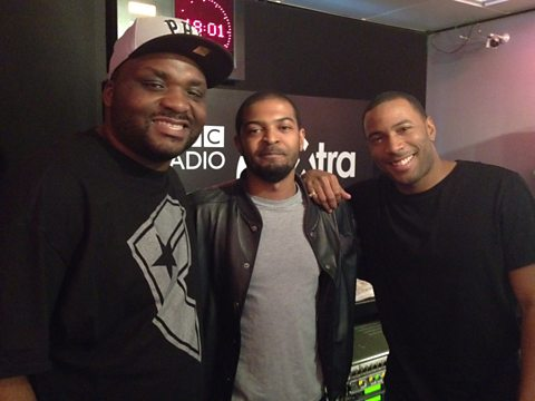 Noel Clarke with Ace & Vis