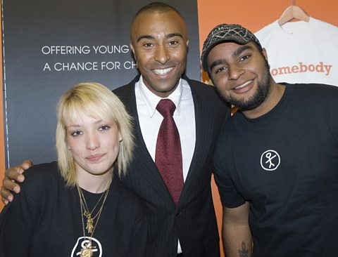 Cleo,  Colin Jackson and So.