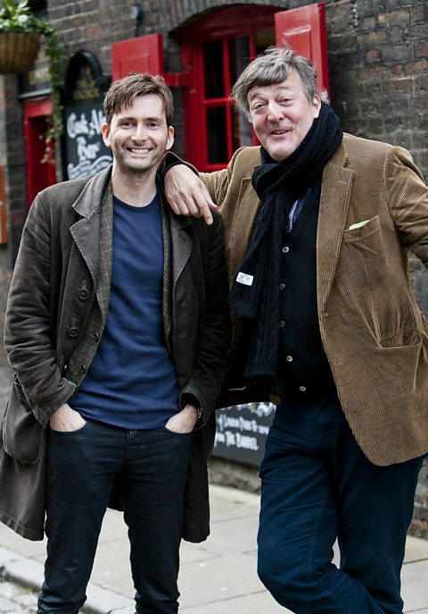 Stephen Fry and David Tennant