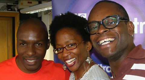 DJ Edu with Wanjiru & Sahr from FELA