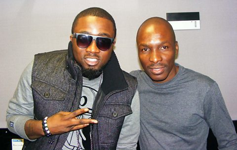 Ice Prince with DJ Edu